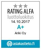 Ariki - Suomen vahvimmat