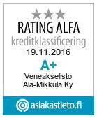 Veneakselisto Ala-Mikkula Ky Suomen Vahvimmat